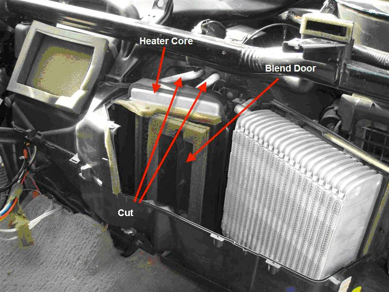 Automotive Heater and Cooling System Heather Core