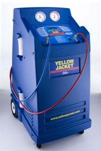 yellow jacket air conditioning recharge service equipment