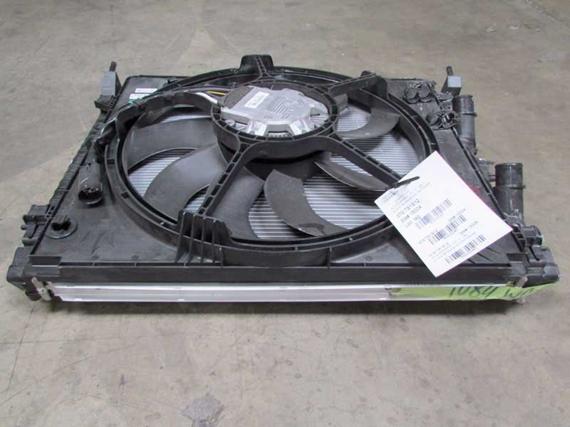 Standard A/C high pressure side condenser with electric fan